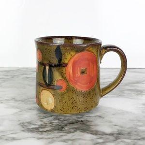 Vintage Stoneware Ceramic Coffee or Tea Mug